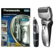 Aparat de ras Panasonic ES-RW30CM503 + Trimmer (Argintiu/Negru)