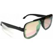 Unique Rectangular Sunglasses(Pink)