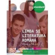 Limba si literatura romana - Clasa a 6-a - Standard 2016 - Anca Davidoiu-Roman M. Dobos