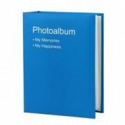 Album foto Conception format 10X15 100 poze tip carte piele ecologica albastru