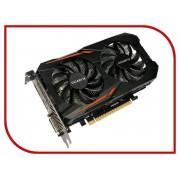 Видеокарта GigaByte GeForce GTX 1050 Ti 1316Mhz PCI-E 3.0 4096Mb 7008Mhz 128 bit DVI HDMI HDCP OC GV-N105TOC-4GD
