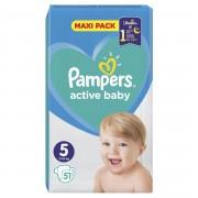 Pampers Active Baby vel. 5 Junior dětské pleny 51 ks