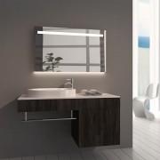 Badkamerspiegel Ambi 100x60cm Geintegreerde LED Verlichting Verwarming Anti Condens Lichtschakelaar