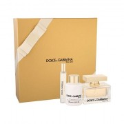 Dolce&Gabbana The One confezione regalo Eau de Parfum 75 ml + lozione per il corpo 100 ml + Eau de Toilette 7,4 ml da donna