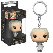 Pop! Keychain Game of Thrones Daenerys White Coat Pop! Vinyl Keychain