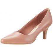 Clarks Women's Isidora Faye Pink Leather Fashion Sandals - 8 UK/India (42 EU)