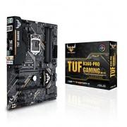Asus tuf B360 Pro Gaming WIFI mainboard Sokkel 1151 (ATX, Intel 360, DDR4, M.2, Intel optane, USB 3.1 Gen 2, Asus Aura sync)