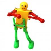 robot interesante giro de baile culo boxeo resorte sonrisa ( color al azar )