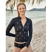 Boden Französisches Navy, Goldfolienflamingos Bikini-Shorts Damen Boden, 46, Navy