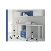 DESKandSIT Mesa mesas de estudio de trabajo doble con buc mju2023004-de-