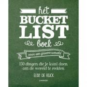 Het Bucketlist boek voor een groene wereld - Elise De Rijck