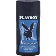 Playboy King Of The Game gel de ducha para hombre 250 ml