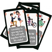 SYGA Set of 8 Stages of Love Story Perfet Valentine,Birthday,Wedding,Annivesary Gift for Your Loved Once