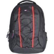 Tommy Hilfiger Biker Club Alpine 22.1 L Medium Laptop Backpack(Black)