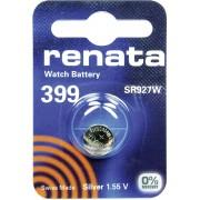 Baterie buton oxid de argint 399, 1,55 V, 55 mAh, Renata