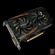 Gigabyte GV-N1050OC-2GD, GeForce GTX 1050, 2GB/128bit GDDR5, DVI/HDMI/DP, WINDFORCE 2X Cooling