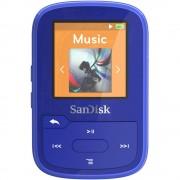 MP3 reproduktor SanDisk Sansa Clip Sport Plus 16 GB, plave boje, pričvrsna kopča, Bluetooth®, vodootporan