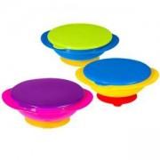Купичка за хранене с вакуум дъно и капак - 1024 Babyono - 3 налични цвята, 8270020