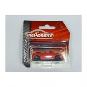 Majorette 212052791 VW Beetle CABRIOLET RED - Street Cars Model Car 1:64