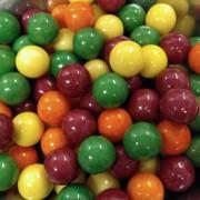 Zed Candy Rain-Blo Assorted Fruit Flavour Bubblegum Balls