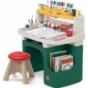 Spatiu de joaca Step2 Art Master Activity Desk Green