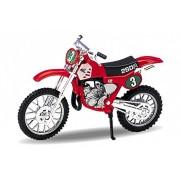 Welly Die Cast Modell Motorrad Honda CR250R Rot Metal Motorrad Model 1:18