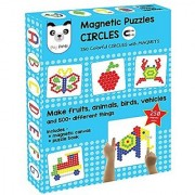 Playmate Play Panda Magnetic Puzzles Circles (250 Colorful Magnets)
