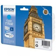 Консуматив Epson WP4000/4500 Series Ink Cartridge L Cyan 0.8k - C13T70324010