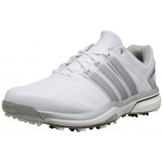 adidas Men's Adipower Boost Golf Shoe Running White/Silver Metallic/Running White 9 D(M) US