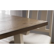 Pembroke Oak Top Dining Table Set - Table + 4 Chairs