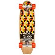 Skate D Street Stubby Cubic 29 portocaliu cu lime