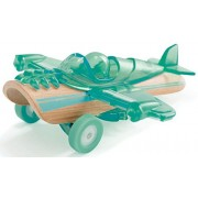 Hape Hape Mighty Mini Bamboo Vehicles Petite Plane Vehicle