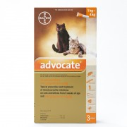 Advocate For Small Cats under 4Kg (8.8lbs), 3 Pack