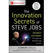 Innovation Secrets of Steve Jobs: Insanely Different Principles for Breakthrough Success, Paperback/Carmine Gallo