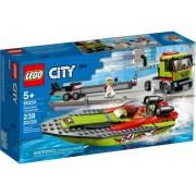 Lego Конструктор Lego City Транспортировщик скоростных катеров 60254