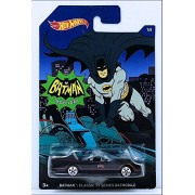 Hot Wheels Batman Classic TV Series Batmobile Toy Car - Black (2017)