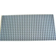 LEGO CITY - very rare plate with 16x32 studs in new dark gray (25.5 x 12.8 cm) baseplate