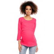 Tunică maternă Ablah roz XXL