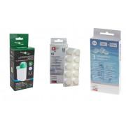 Filter Logic Zestaw do ekspresu: Filter Logic CFL-901B Tabletki czyszczące Bosch TCZ6001 Tabletki odkamieniające Bosch TCZ8002