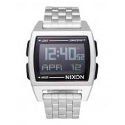 ユニセックス NIXON A1107 BASE BLACK 腕時計 シルバー