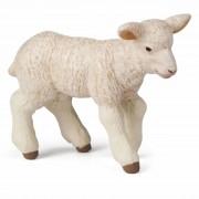 Geen Plastic speelgoed Merino lammetje 5 cm