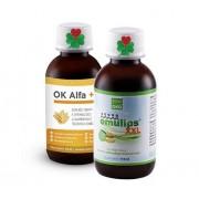 OKG OK Alfa+ 115 ml. Emulips XXL 115 ml. ( harmonie trávení )