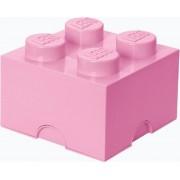 LEGO Storage Brick Opbergbox - 6L - Kunststof - Licht Roze