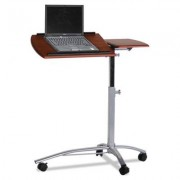 Eastwinds Laptop Computer Caddy, 29-1/2w X 20d X 27 To 38h, Medium Cherry