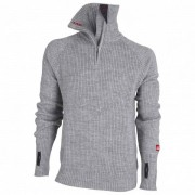 Ulvang - Rav Sweater with Zip - Pull taille XS, gris