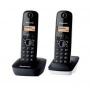 Panasonic KX-TG1612 Duo Telefone Sem Fios Dect Negro