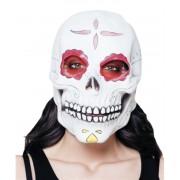Koponya maszk piros szemekkel