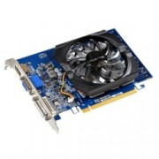 Видео карта GF GT 730, 2GB, Gigabyte GV-N730D3-2GI (rev. 2.0), PCI-E 2.0, DDR3, 64 bit, HDMI, DVI