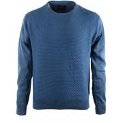 Suitable Pullover Blau Dreieck - Blau L