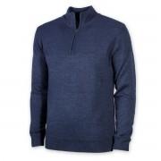 Pulover bărbătesc călduros Willsoor 8722 in blue color